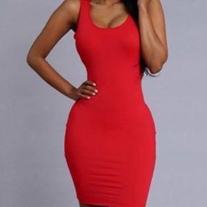 NEW w/tags Red Mini Dress